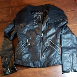 Motorcycle Style Jacket Guess Size Small